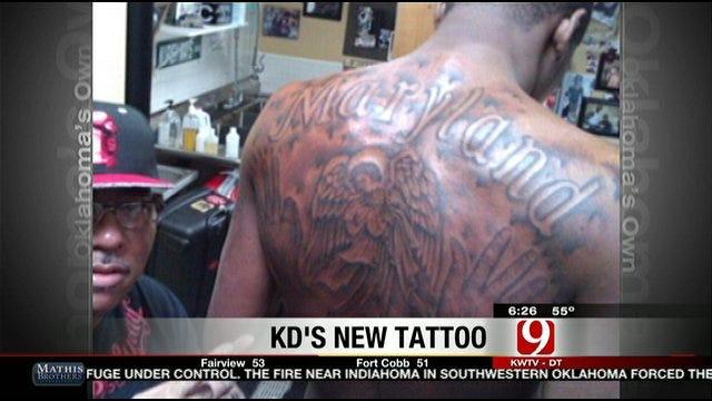 KD's New Tattoo