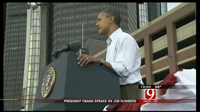 President Obama Speaks On Unemployment Rate