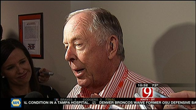 T. Boone Pickens On Conference Realignment
