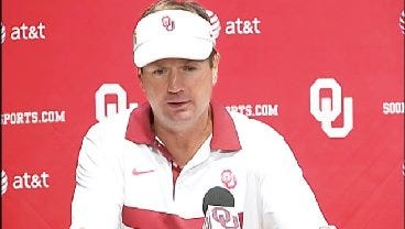 Bob Stoops Post Game Interview