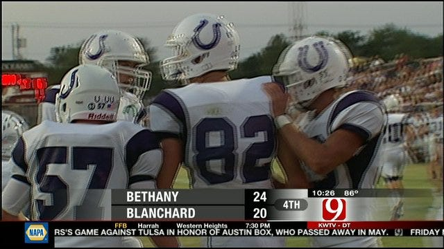Bethany Tops Blanchard On Road