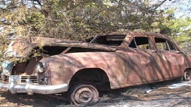 Classic Car Memorabilia Destroyed By Noble Wildfire