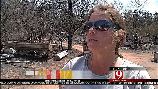 Insurance Commissioner Tours NE OKC Fire Devastation