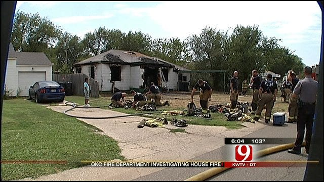 Oklahoma City Home Destroyed In Saturday Fire