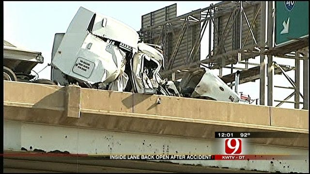 All Lanes Of Eastbound I-40 Reopen Following Semi Crash
