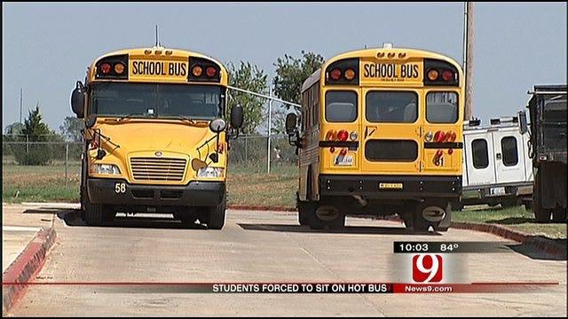 Edmond Kids Kept On Bus 40 Minutes In 108-Degree Heat