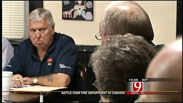 Cashion Fire Department Decision Still Up In The Air