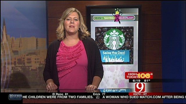 Money Saving Queen: Scoring Free Starbucks