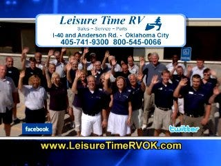 Leisure Time RV: More Choices on RV's & Parts