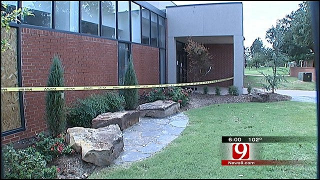 Vandal Leaves Path Of Destruction At Oklahoma Christian University