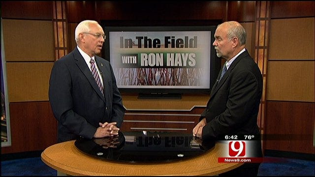 In The Field With Ron Hays: Drought Effects On Oklahoma's Water Plan