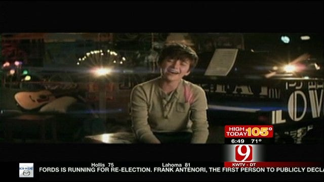 Greyson Chance Speaks With News 9 This Morning