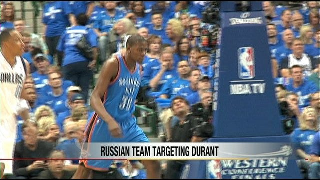 Kevin Durant Offered Contract To Play In Russia