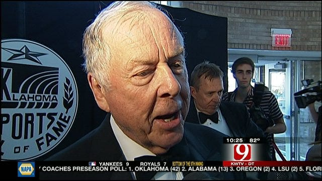 Six Inducted Into Oklahoma Sports Hall Of Fame