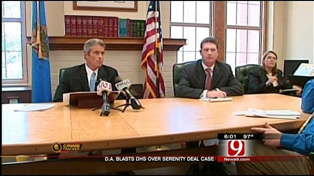Pottawatomie County District Attorney Blast DHS's Handling Of Serenity Deal Case
