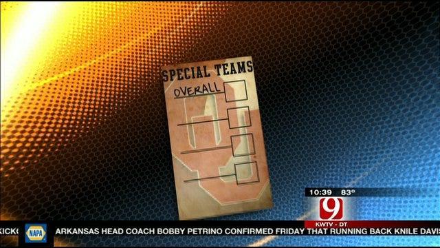 OU Report Card: Special Teams