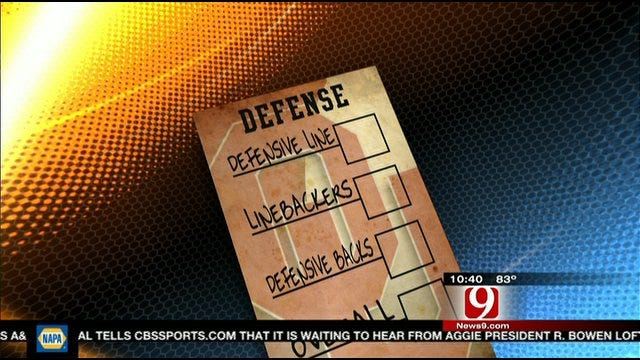 OU Report Card: Defense