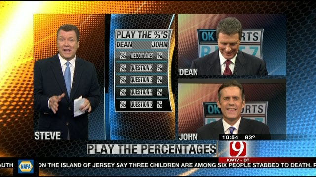 Play the Percentages: August 14, 2011