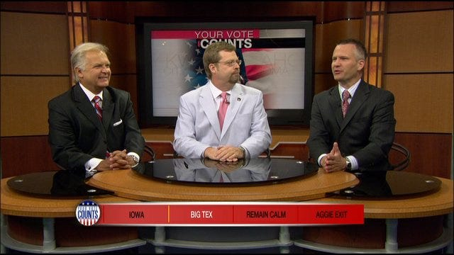 Your Vote Counts: Iowa Straw Poll, Stock Market, Texas A&M Heading To SEC