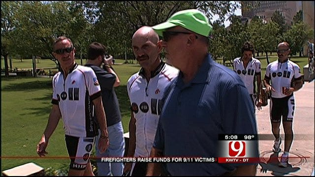 Firefighters Ride To Remember 9/11 Victims