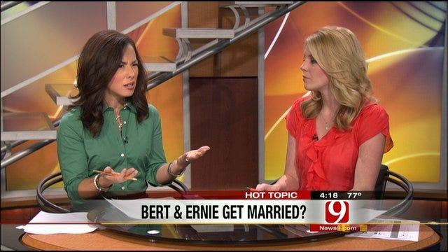 Hot Topics: Wedding Bells In Bert And Ernie's Future?