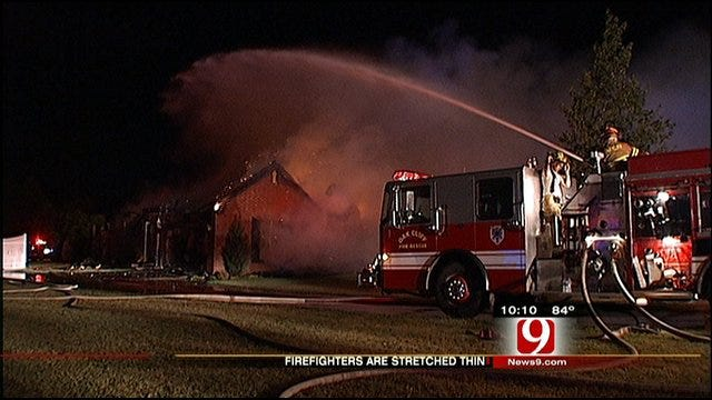 Weather Stretches Firefighters Thin