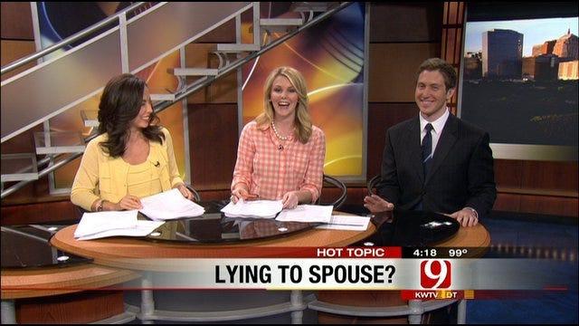 Hot Topics: Couples Lie About Shoe Size