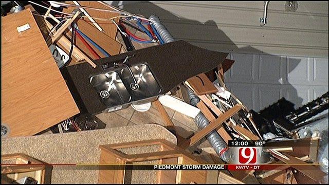 Piedmont Residents Survey Damage Done By Microburst