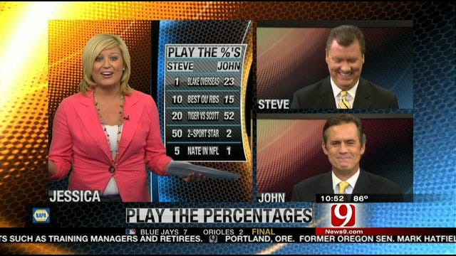Play The Percentages August 7th