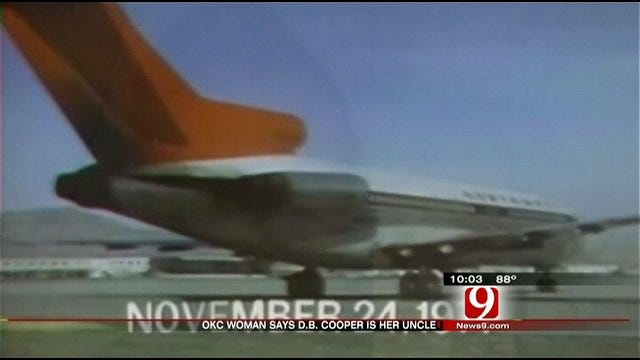 Oklahoman Claims Connection To D.B. Cooper Hijacking