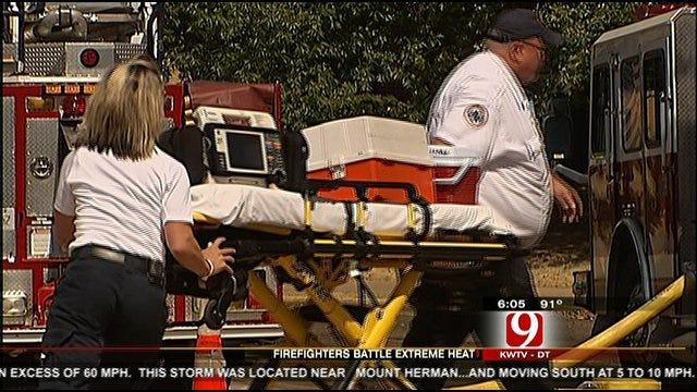Firefighters Bear The Heat