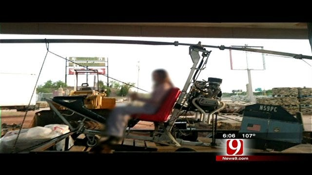 Thieves Steal Helicopter From South OKC Business