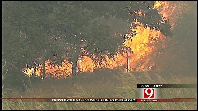 Firefighters Put Out SE OKC Fire