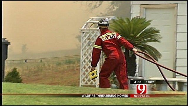 Southeast OKC Grassfire Under Control