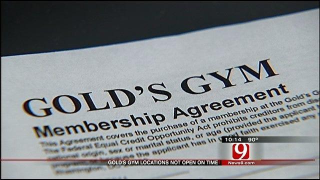 Consumer Watch: Gym Delay Leaves New Member Feeling The Burn