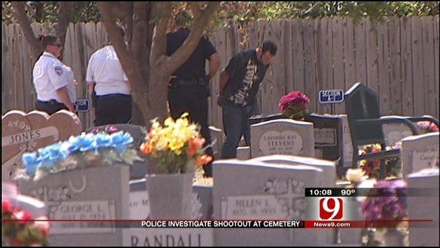 Moore Police Investigate Cemetery Fight