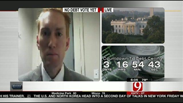 Congressman James Lankford Talks About Debt Debate