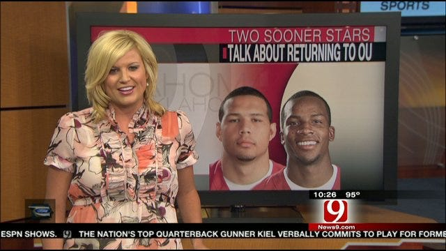 Broyles And Lewis Talk About Returning To The Sooners