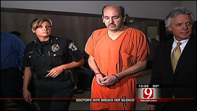 Wife Of OKC Doctor Who Killed Son Pleads To Keep Him Locked Up