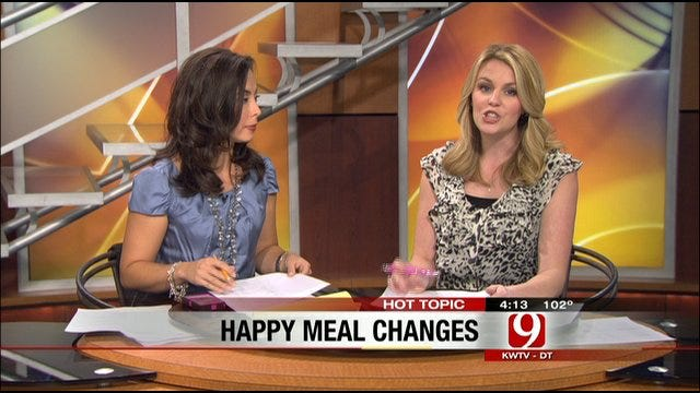 Tuesday Hot Topics: McDonald's Healthier Happy Meal, Iphone Obsessed, Owling