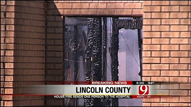House Fire In Lincoln County