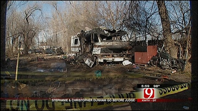 Preliminary Hearings Begin In Del City Fire Deaths Case