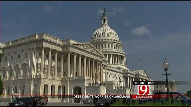 Oklahomans Worry About Debt Debate