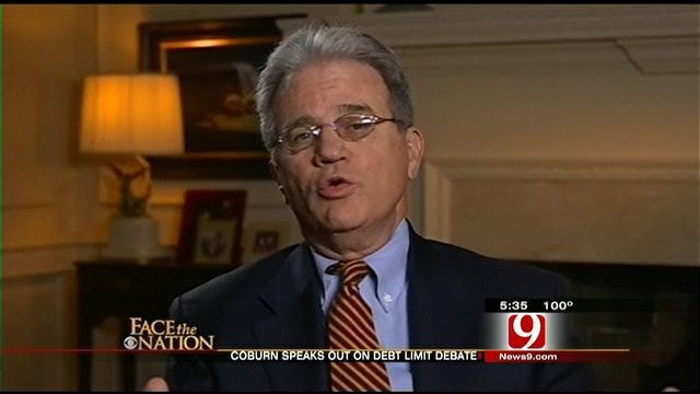 Coburn Reacts To Debt Ceiling Stalemate