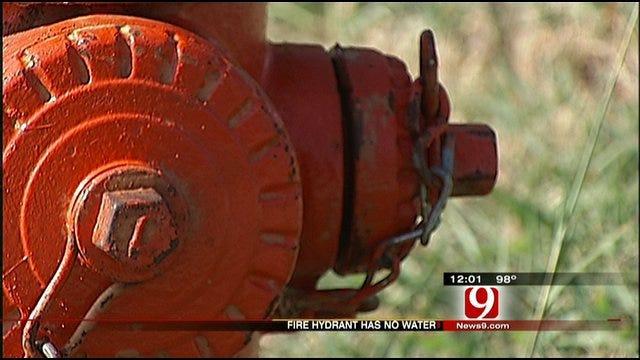 Despite Dry Hydrant, Man Praises Firefighters