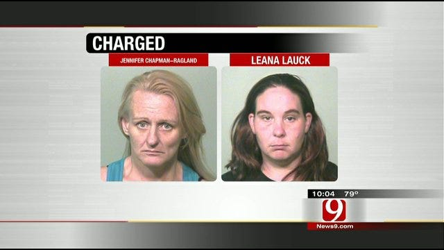 2 Oklahoma City Women Charged In Toddler's Shocking Abuse