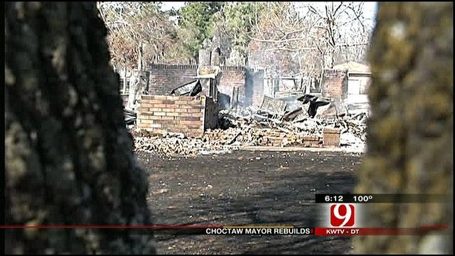 Choctaw Mayor Rebuilds After Wildfire