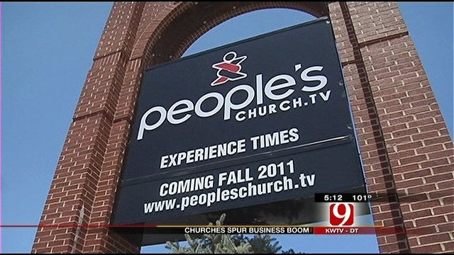 Churches Bring New Life, Business To Midwest City