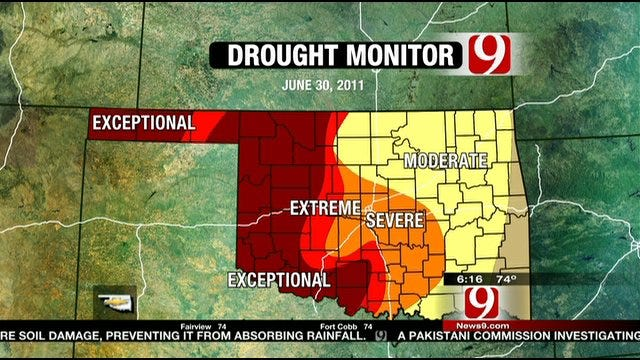 Oklahoma Drought May Affect Grocery Prices