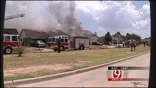 Trio Of Moore Home Fires Linked